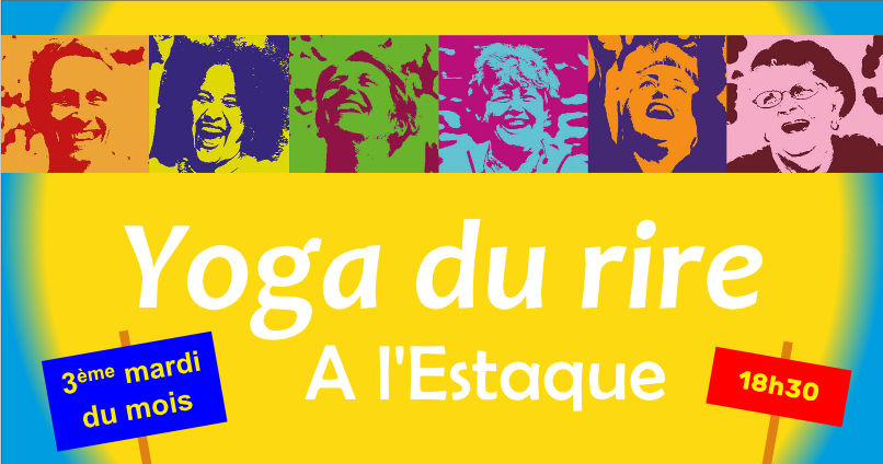 Yoga du rire à l'Estaque le 15 septembre