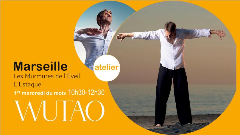 Atelier de Wutao à Marseille à l'Estaque le 1er mercredi du mois