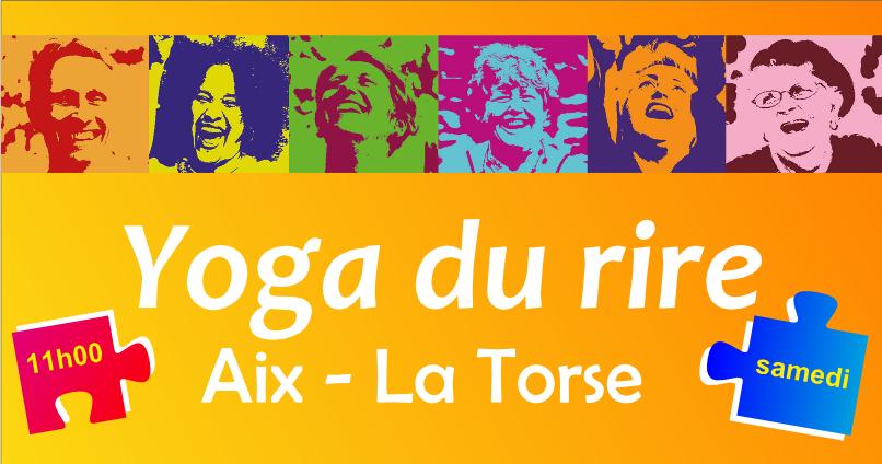 Yoga du rire à la Torse le 19 septembre