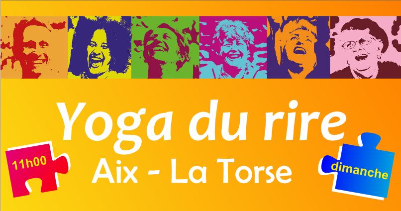 Yoga du rire à la Torse le 21 mars