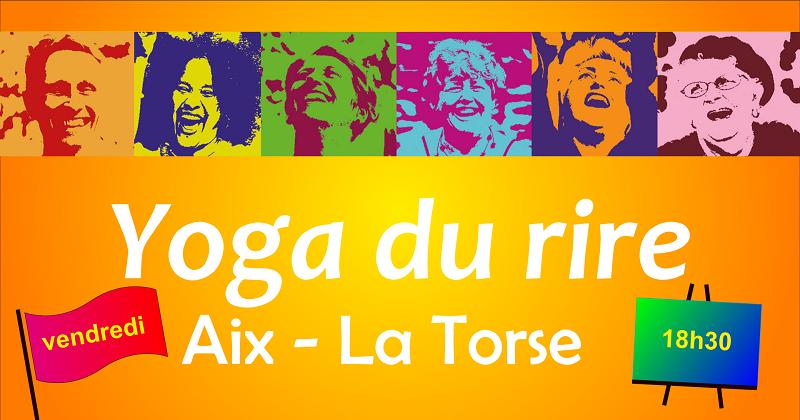 Yoga du rire à la Torse le 3 septembre
