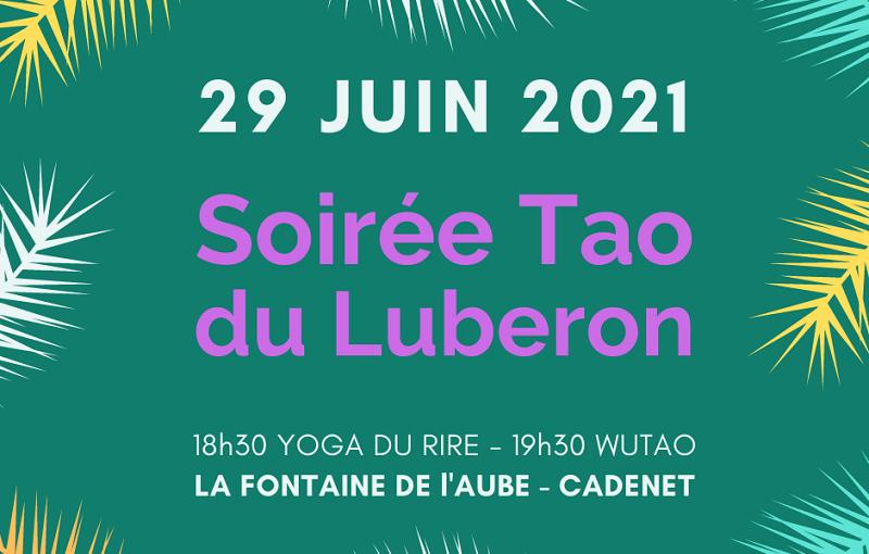 Soirée Tao du Luberon